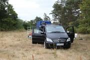 Ankunft an der Site Annaburg 01